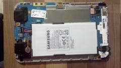 L'intérieur du Samsung Galaxy Tab