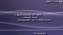 Le Custom Firmware 4.01 M33 disponible !