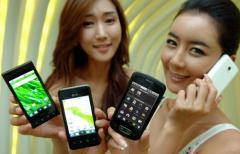 LG divulgue sa s�rie Optimus contenant Android 2.2 avec smartphones et tablette