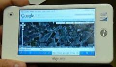 Test de la navigation Internet Wifi avec l'Aigo P8860 MID !