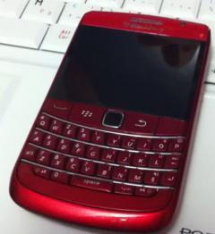 Une couleur rouge pour le BlackBerry Bold 9780