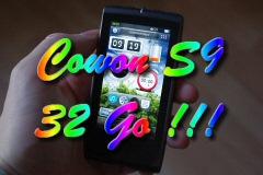 Le Cowon S9 32 Go d�barque bient�t en Europe !!!