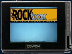 Rockbox tactile en préparation sur le Cowon D2 !