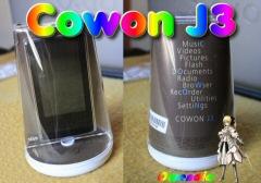 Le Cowon J3 D�barque sur Owendia
