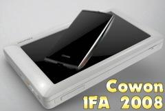 Nouveaut�s Cowon O2 et Cowon S9 � l'IFA 2008