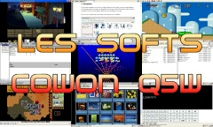 Collection de softwares pour Cowon Q5W