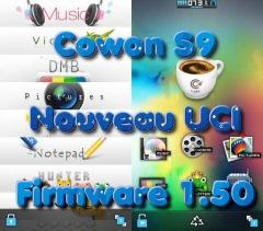 Firmware 1.50 : Nouvel UCI pour le Cowon S9 !