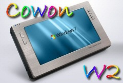 CES 2010 : Cowon W2 - La tablette internet !