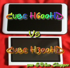 Test Cube H300HD vs H600HD
