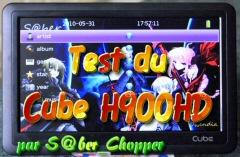 Test Cube du H900HD 7
