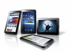 Partenaires de la Galaxy Tab