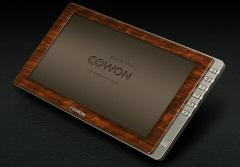 Le Cowon N3 avec finition bois... Quand le luxe se fait écolo !