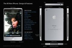 L'iphone 4G un concept séduisant.