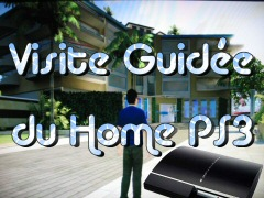 PS3 : Visite guid�e du Home.