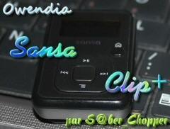 Sansa Clip+ un baladeur pas sensationnel.