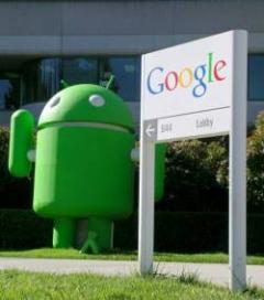 Android mène la course en tête sur les Smartphones