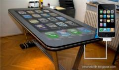 Un concept de table iPhone