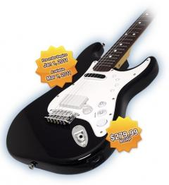 Une Squier Stratocaster pour Rock Band 3