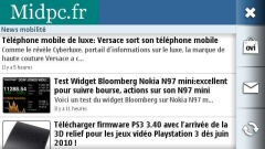 Télécharger Widget Nokia Midpc pour les possesseurs d'un smartphone Nokia Tactile Symbian : toutes l [...]