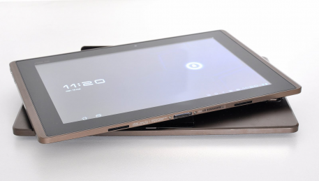 Nouvelle tablette tactile EEE Pad d'Asus sous Android.