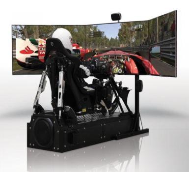 CXC Motion Pro II Simulator, simulateur de F1 � 30 100�