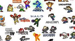 200 personnages de jeux vidéo prennent la pause Megaman