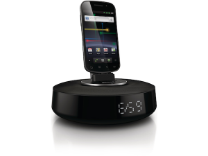 Trois docks Philips Fidelio pour Android !