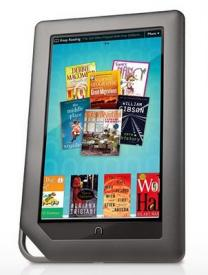 Le nouveau Nook Color de Barnes & Noble arrive
