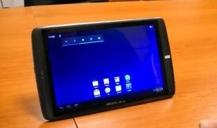 Android ICS sur les tablettes Archos G9