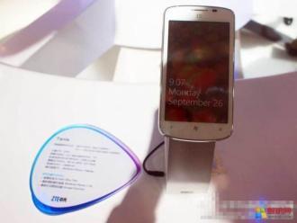 ZTE lance son 1er portable avec Windows Phone 7