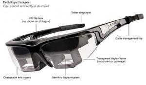 Vuzix STAR 1200 : lunettes pour r�alit� augment�e