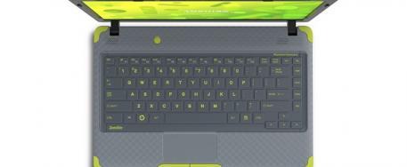 Toshiba: nouveau mod�le de Laptop pour enfant