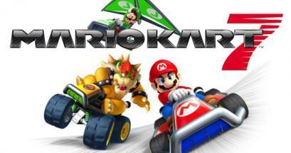 Mario Kart 7: d�but et lancement �normes