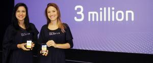 3 Millions de Samsung GALAXY S II Vendus