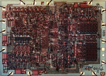 Quarante ans pour l'Intel 4004