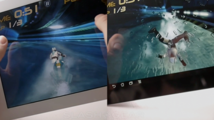 ASUS Transformer Prime vs iPad 2: Riptide GP ainsi que Shadowgun