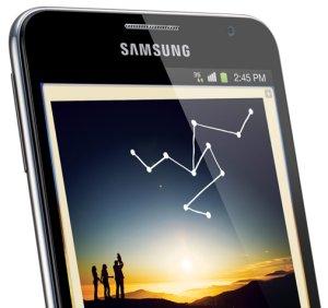 IFA: le grand Galaxy Note de la marque sud-cor��nne Samsung