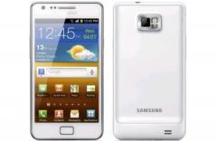 Le Galaxy S II blanc