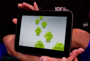 Android: Tablette Intel Medfield