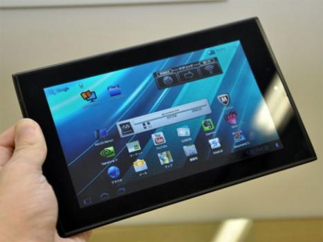 Sharp lance sa tablette Galapagos 7″