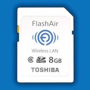 IFA 2011: FlashAir (Toshiba), une carte mémoire SDHC et Wi-Fi