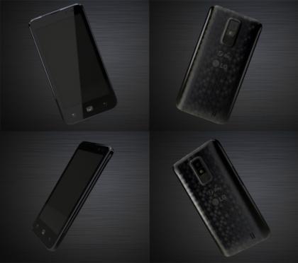 Pseudo LG Optimus LTE: haut de gamme