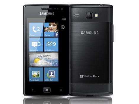 Samsung: Omnia W avec Windows Phone