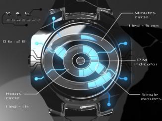Tokyoflash YAL Watch: montre à diode électro luminescente très intéressante
