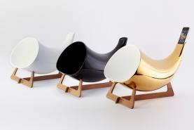 M�gaphone en c�ramique pour votre iPhone