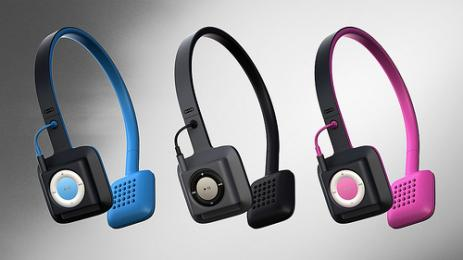 ODDIO1: un casque dans lequel on int�gre un iPod Shuffle