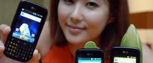 LG: 2 nouveaux Smartphones sous Gingerbread, les LG Optimus PRO et Optimu NET