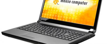 Mouse Computer: Notebook m-Book P series, avec i7 et GTX560M