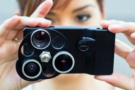 Photojojo Lens Dial Case : trois objectifs photo pour votre iPhone 4