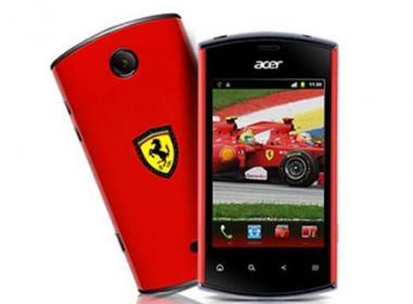 IFA: Acer pr�sente son Liquidmini Ferrari